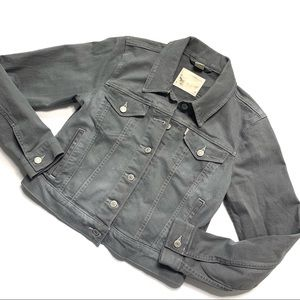 Levi Gray Denim Jacket